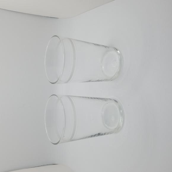 Vintage Midcentury Set of 2 Juice Glasses